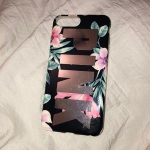 VS Pink iPhone 8 Plus phone case